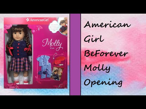 Opening The New BeForever Molly ~ American Girl Doll
