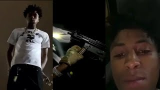 NBA YOUNGBOY Instagram Live That Got His Account Deactivated