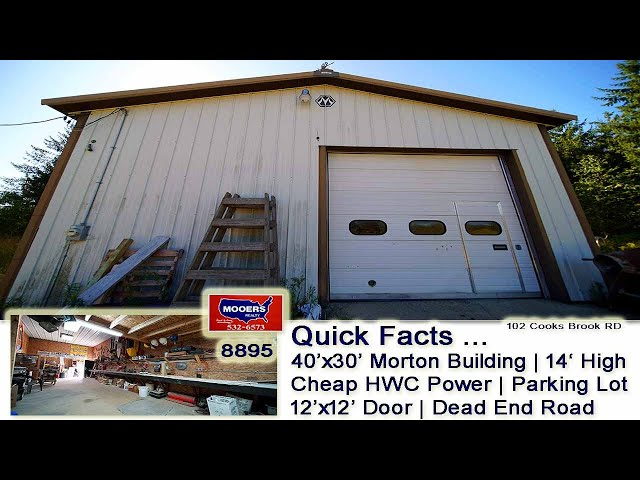 Commercial Real Estate Warehouse Property | Building, 10.4 Acres MOOERS REALTY #8895