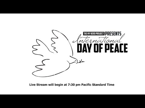 The MY HERO Project- International Day of Peace Celebration