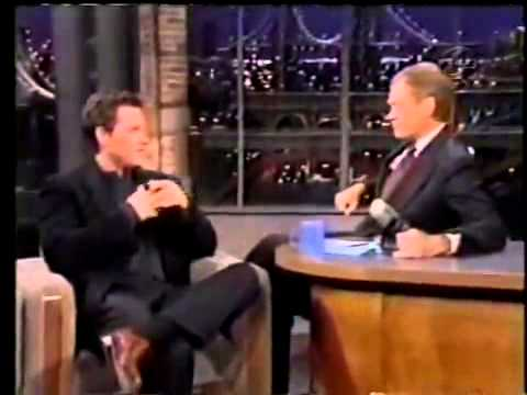 Kurt Russell on Letterman 1997