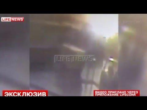 Момент Падения Самолёта В Ростове На Дону 19 Марта 2016