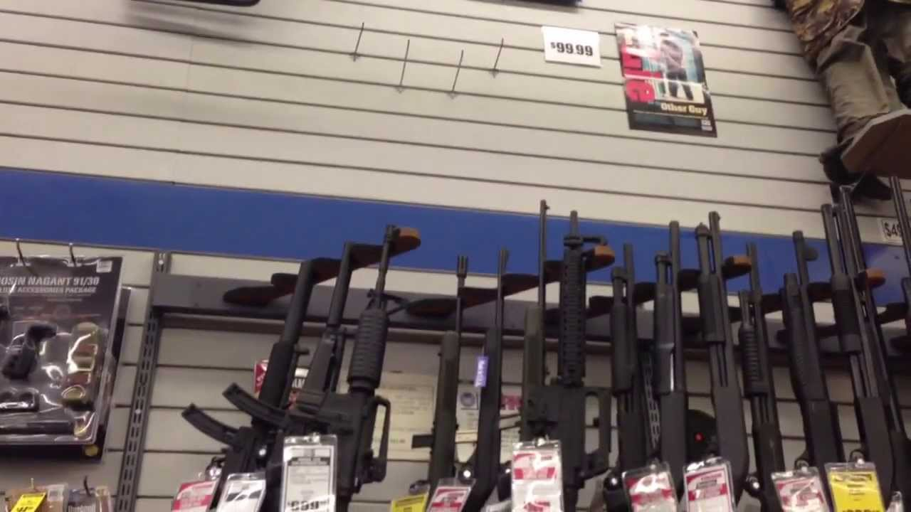 69a5d1a2a Loja de artigos esportivos e armas aqui no EUA. - YouTube