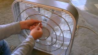 Homemade Evaporative Air Cooler - cools air up to 30F! - only 45 Watts - can be solar powered!
