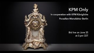 An auction fit for a king: KPM Only