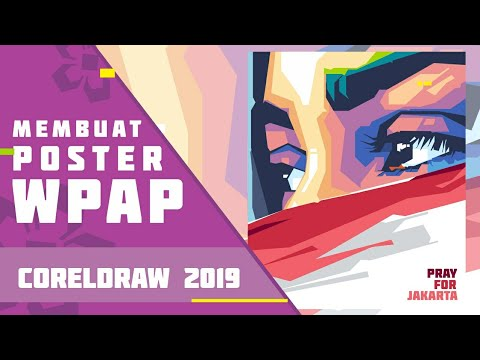 How to Create a WPAP Style Poster | CorelDRAW 2019