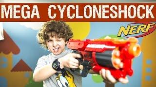 Hasbro Nerf Mega Cycloneshock: обзор и распаковка