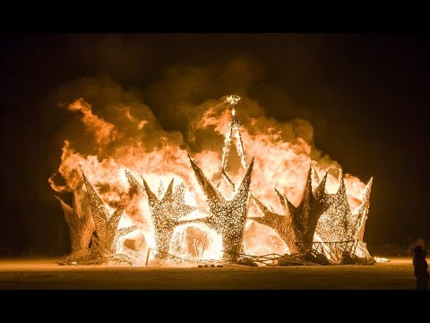 shocking theme for burning man 2018 and the satanic. Black Bedroom Furniture Sets. Home Design Ideas