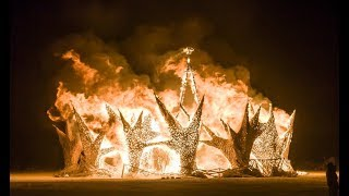 SHOCKING THEME FOR BURNING MAN 2018 AND THE SATANIC CEREMONY THEY WILL PERFORM...