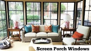 Screen Porch Windows That Rock!