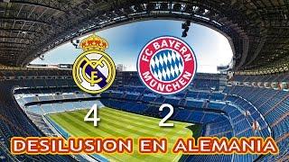 Real Madrid vs Bayern Munich | Resumen y Goles con otro estilo
