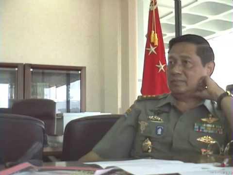 10年前のユドヨノ現大統領との会見(11) Interview President RI Susilo Bambang Yudhoyono