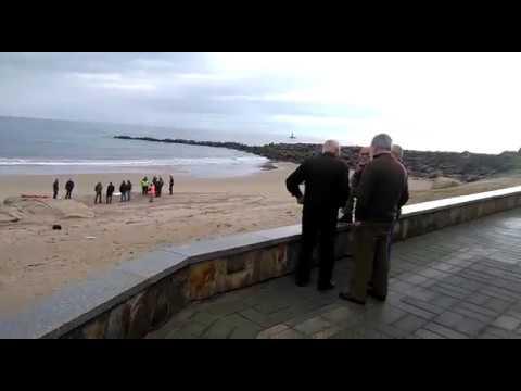 Identifican el cadáver hallado en la playa de O Portelo, en Burela