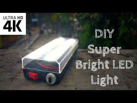 How to make Super Bright Flash Light With LED - DIY: Super Bright Light | Creative Creator