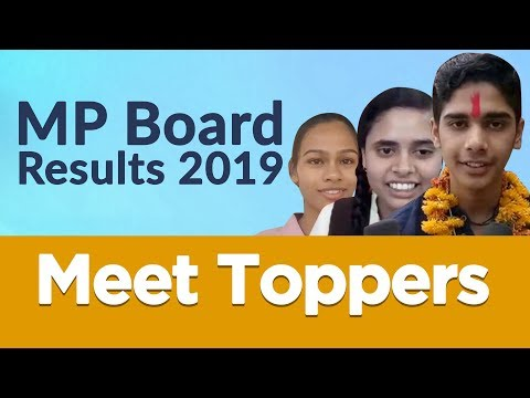 MP Board Result 2019 Declared Highlights, Pass Percentage & Toppers Reaction