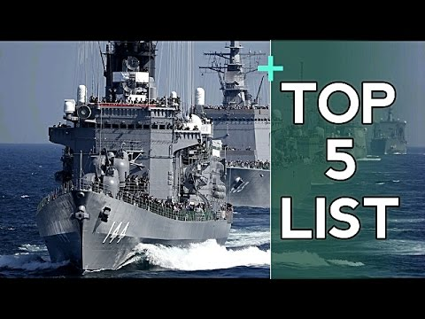 5 Most Largest Naval Fleet's in the World - 2017