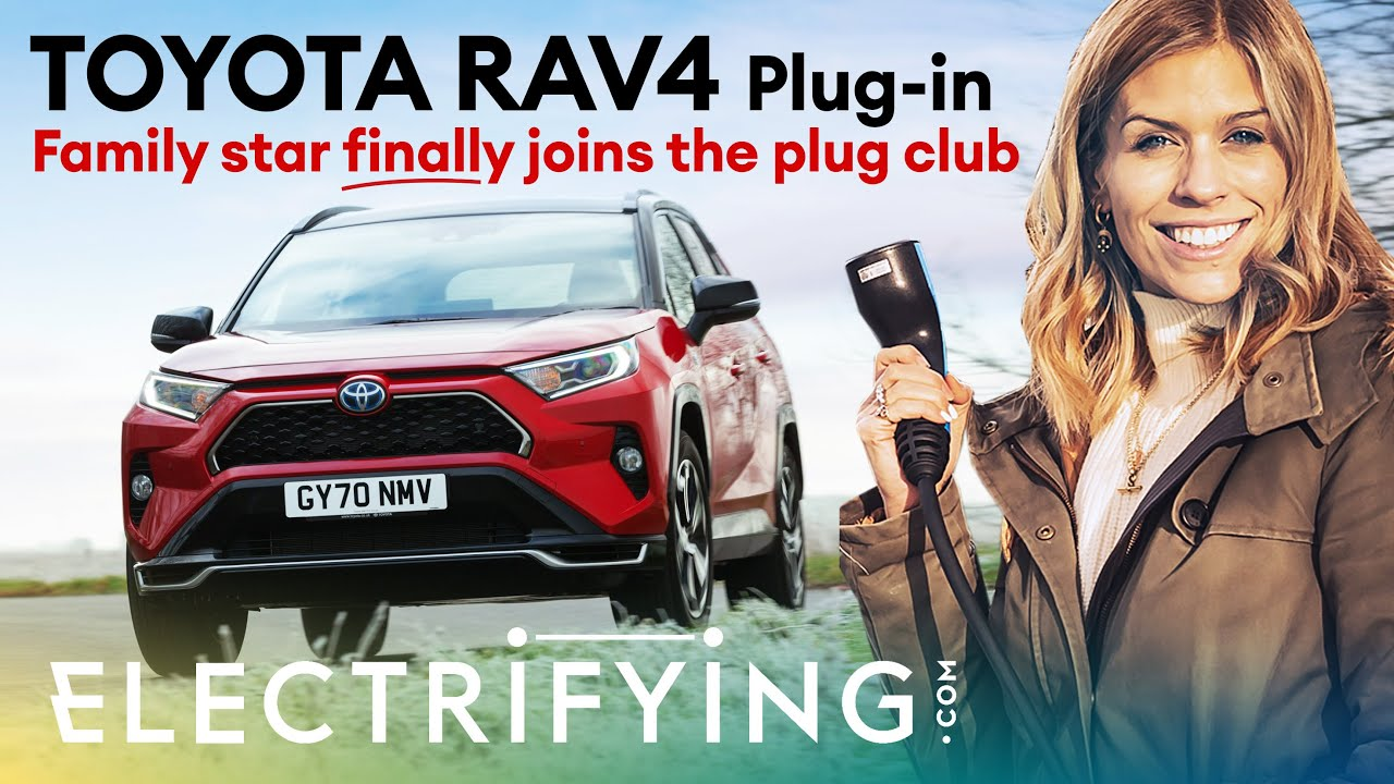 Toyota RAV4 Plug-in PHEV SUV: In-depth review with Nicki Shields / Electrifying