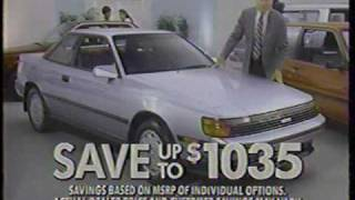 Vintage Commercials 1988-1989 Vehicles Auto