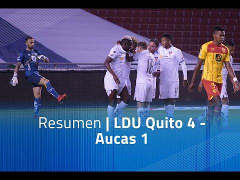 LDU Quito Aucas Goals And Highlights