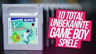 Diese 10 GAME BOY Spiele hast du NOCH NIE GESEHEN|NES Commando|Nintendo Gameboy