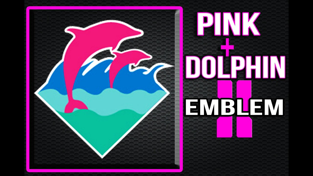 Black Ops 2 Pink + Dolphin Emblem - YouTube