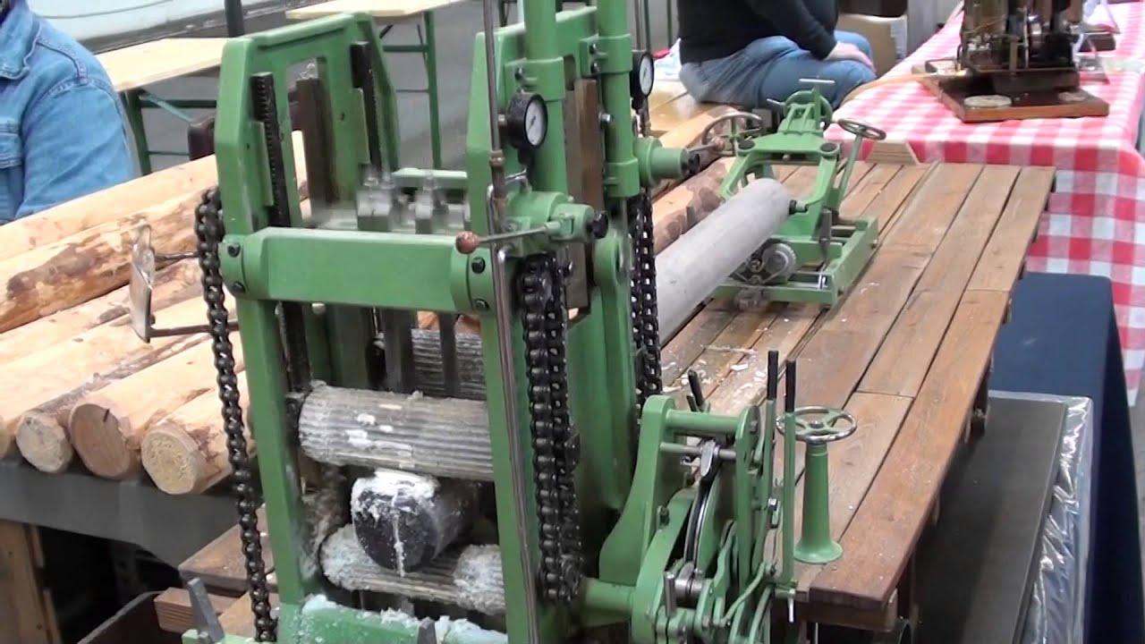 Modellbaumesse Wels, 26.04.2014 Teil 2 Holzverarbeitung - YouTube