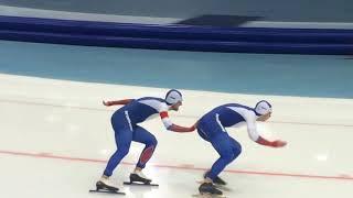 Командный спринт Польша - Россия