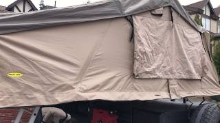 Smittybilt Overlander XL Tent Modification