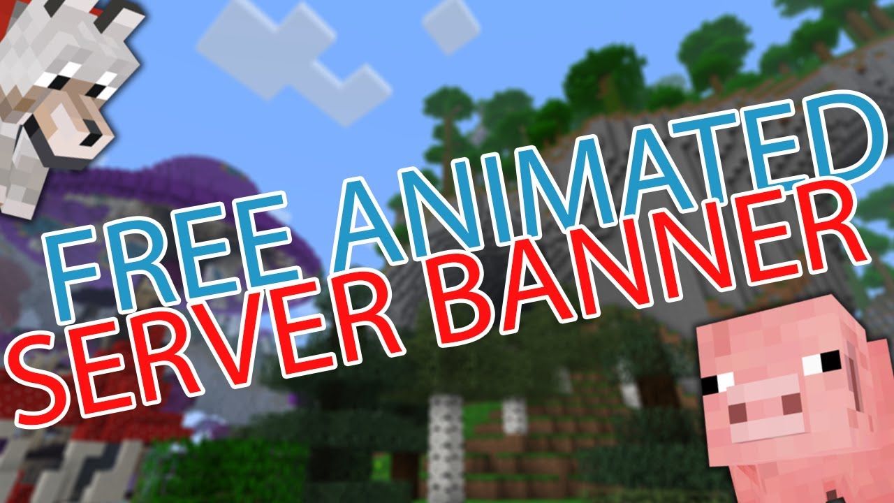 FREE ANIMATED SERVER BANNERS!