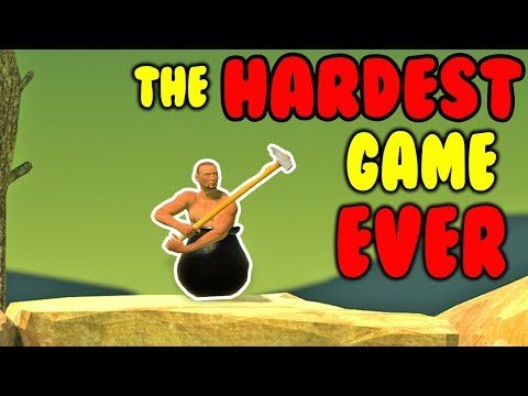😡 99.99% OF PEOPLE CAN'T BEAT THIS GAME 😡 Getting Over It with Bennett Foddy Livestream