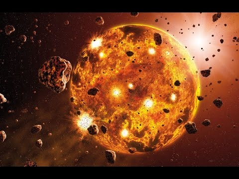 The Birth of the Earth - Earth Formation{Image source-National Geographic & Science Documentary}
