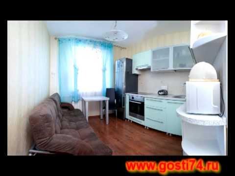 Квартира посуточно г.Челябинск, ул.Елькина 110
