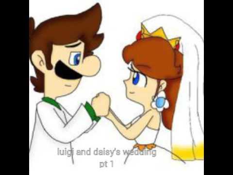 Luigi and daisy wedding day pt 1 - YouTube