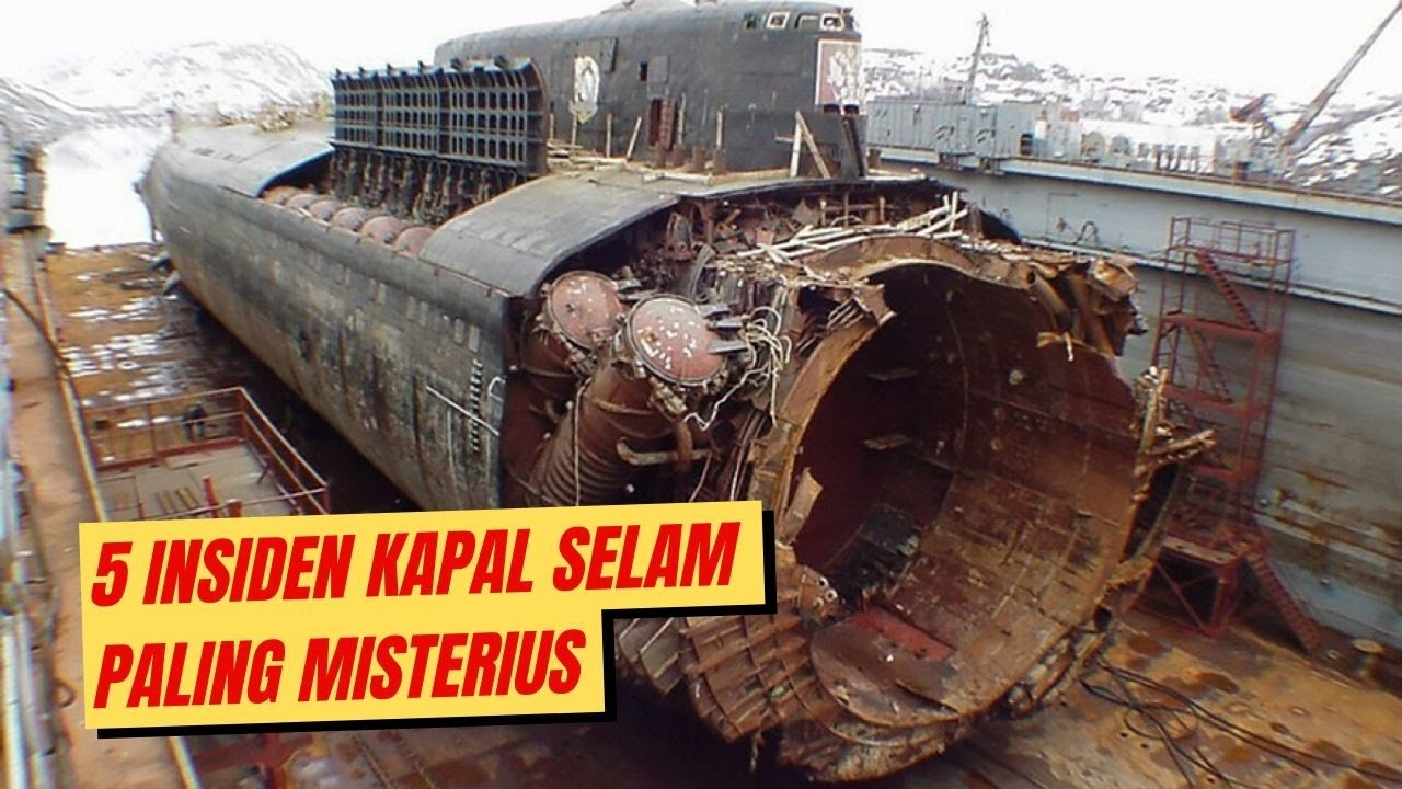 Beratnya Jadi Awak Kapal ini, Deretan Insiden Kapal Selam Paling MISTERIUS di Dunia!