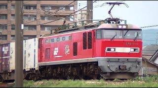 EF510-9牽引高速貨物4060レ 札幌→大阪 信越本線上り