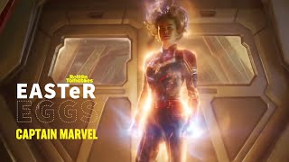 Captain Marvel Easter Eggs + Fun Facts | Rotten Tomatoes