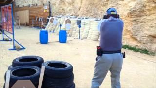 ipsc shooting gun blast gozo malta competition feb 2013