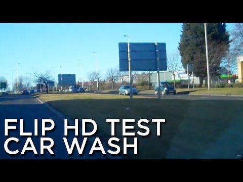 2010-03-02 'Flip HD Test, Car Wash'