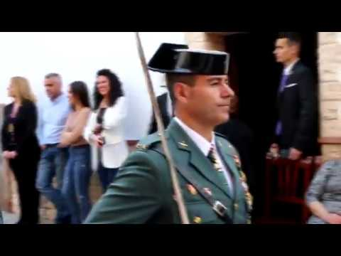 Desfile y parada de la guaradia Civil. Semana Santa 2019. Alhaurín de la Torre
