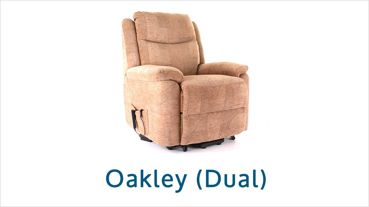 Oakley Riser Recliner Chair - Dual Motor  sc 1 st  YouTube & Oakley Riser Recliner Chair - Dual Motor - YouTube