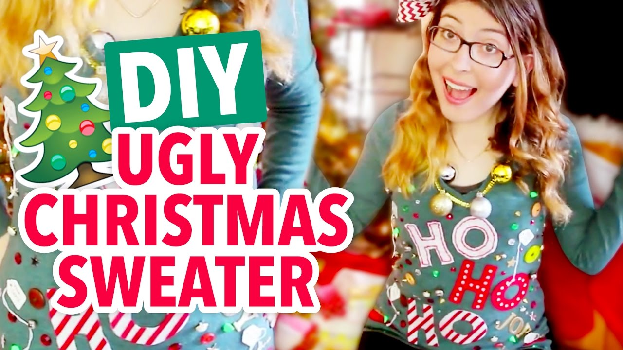 DIY Ugly Christmas Sweater - HGTV Handmade - YouTube