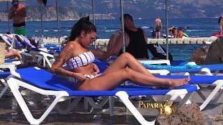 Mina Vrbaski na plaži