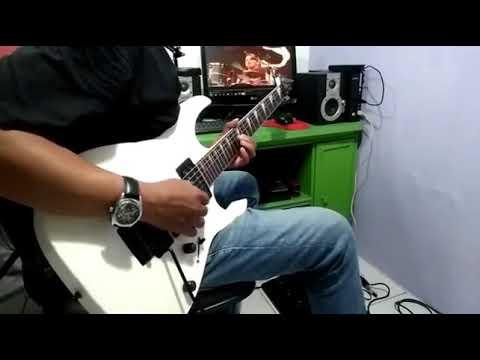 Citra cinta - Rhoma irama - guitar cover by : Arnos kamjet