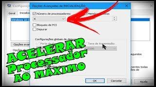 Veja Como Acelerar o Processador Do PC e Notebook Ao Máximo [Ativar Todos Os Núcleos do Processador]