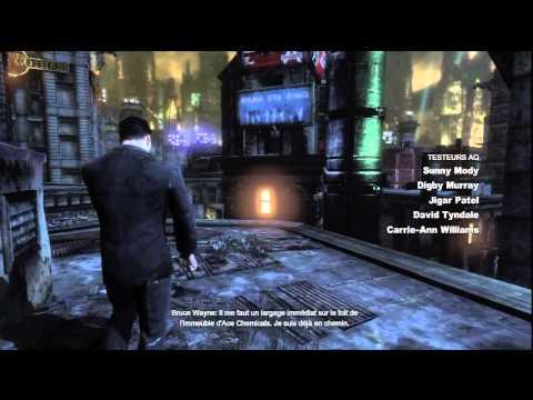 Batman Arkham City - Premiers pas sur le jeu