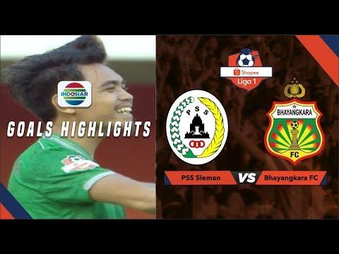 PSS Sleman (1) Vs Bhayangkara FC (1) - Goal Highlights | Shopee Liga 1