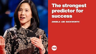 The strongest predictor for success | Angela Lee Duckworth