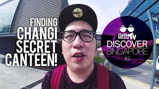 FINDING CHANGI SECRET CANTEEN with Ezra Adhitya #2