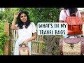 What's In My Backpack 2018 - What's In my Travel Bag (Beach Bag & Day Backpack) | AdityIyer