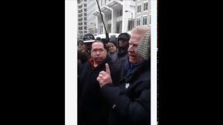White Man Speaks WITH raw honesty TO Chicago PROTESTERS